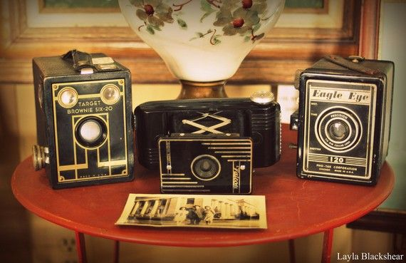Antique Cameras 8x10 Photograph by PictureBook on Etsy, $24.00