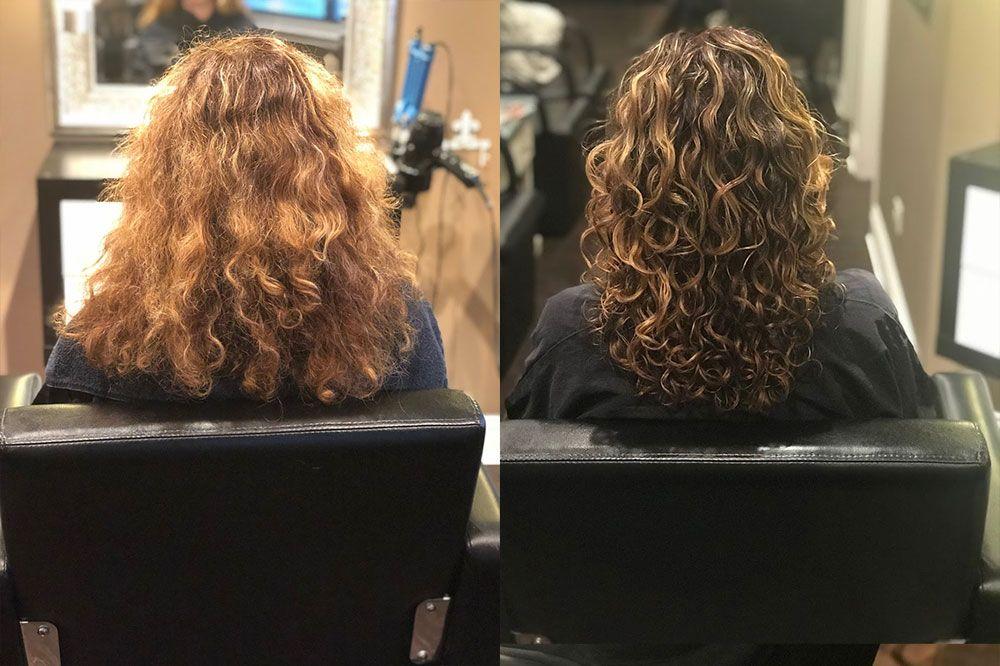 Ouidad Haircut By Jennifer Ouidad Haircut Curly Hair Salon Curly Hair Styles