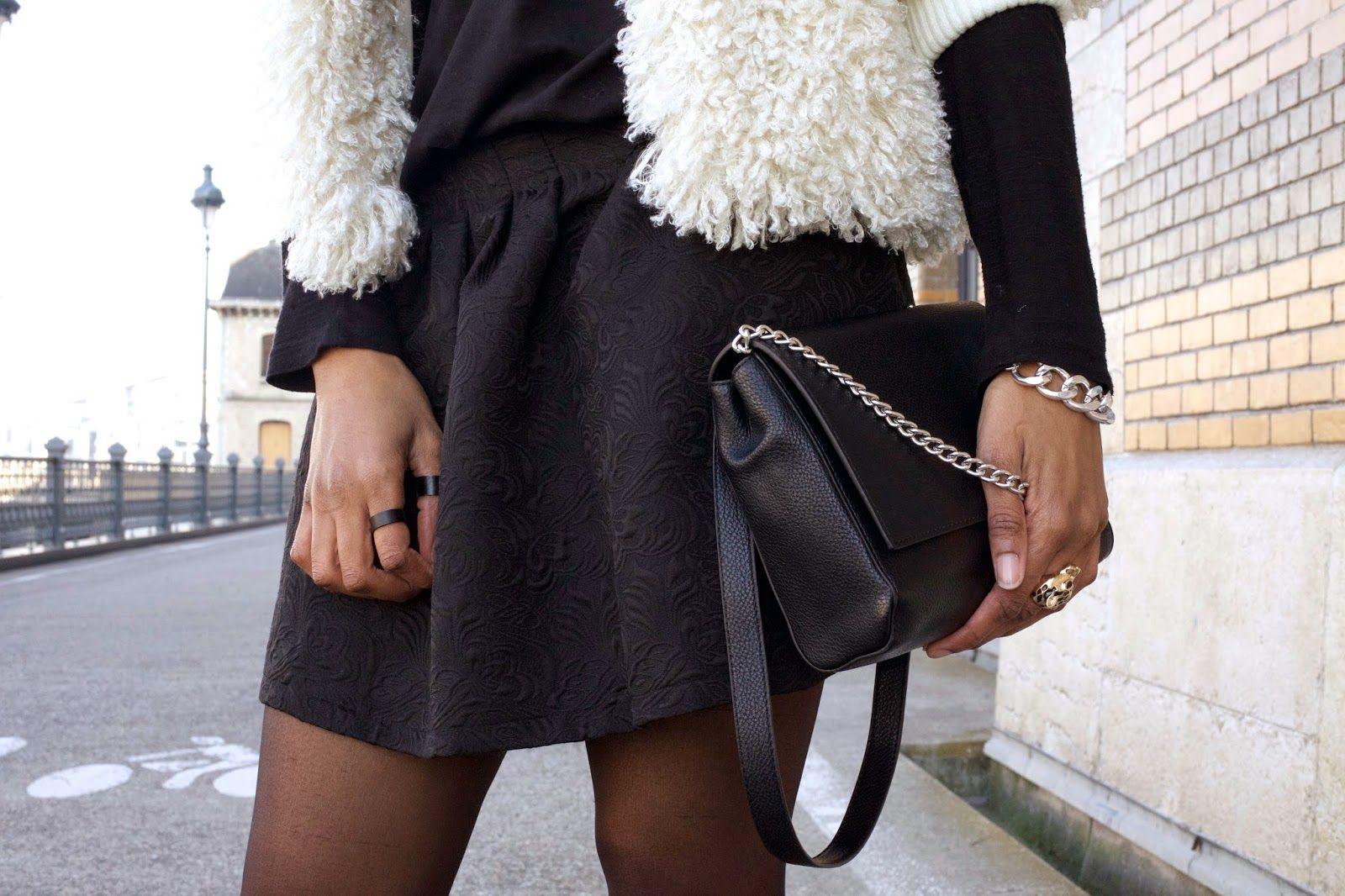 Mlle Chanaëlle nous présente son look poupée #defshop #bag #vila #only #top #mode #fashion #blog