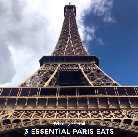 Find out my 3 essential places to dine in Paris!