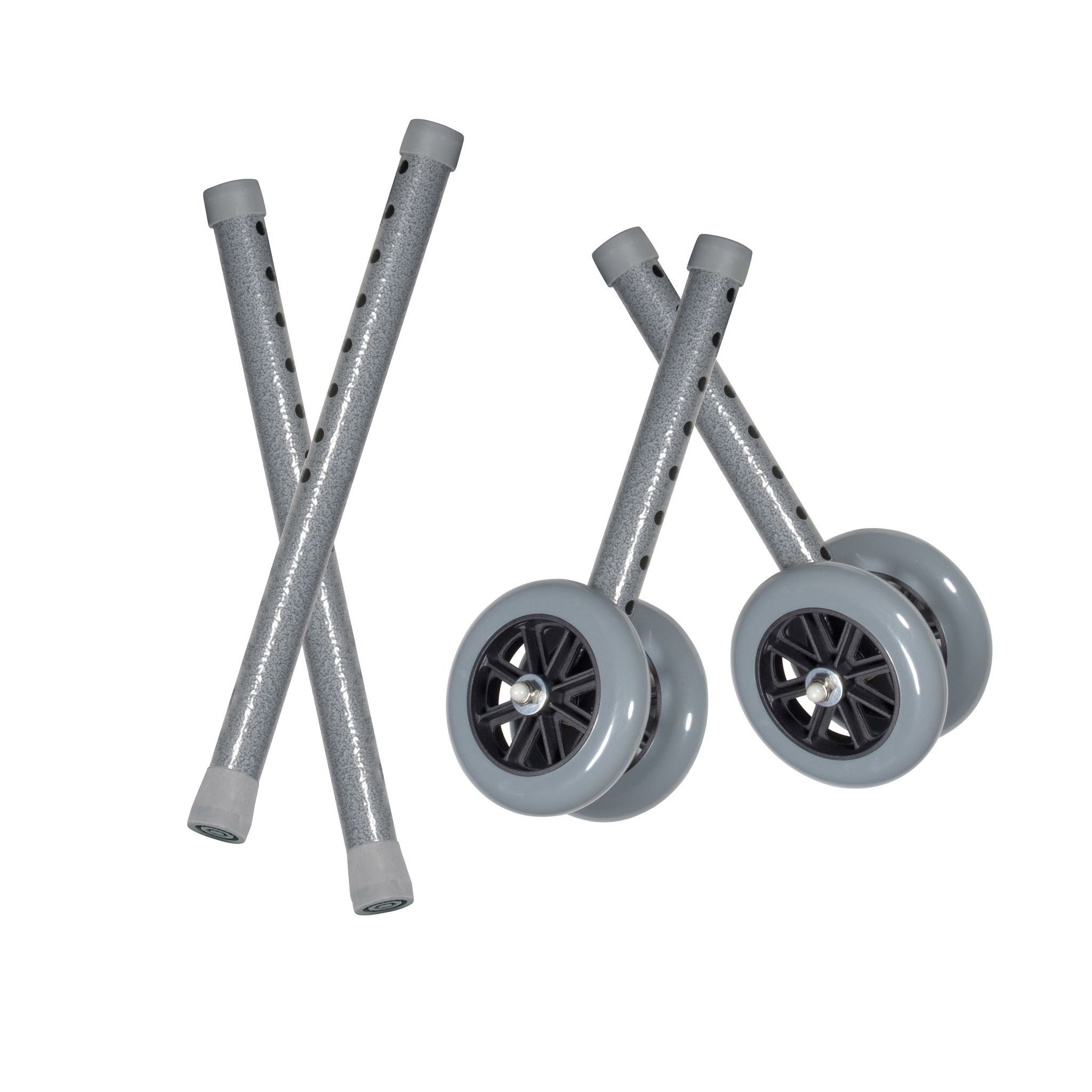 Heavy Duty Bariatric Walker Wheels With Extension Legs Heavy Duty Wheels Replacement Wheels Walker Medical