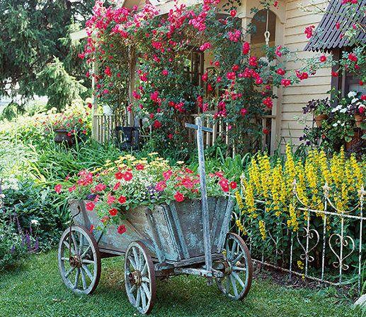 Cottage Garden – eine der beliebtesten Gartenformen | Holzwagen ...