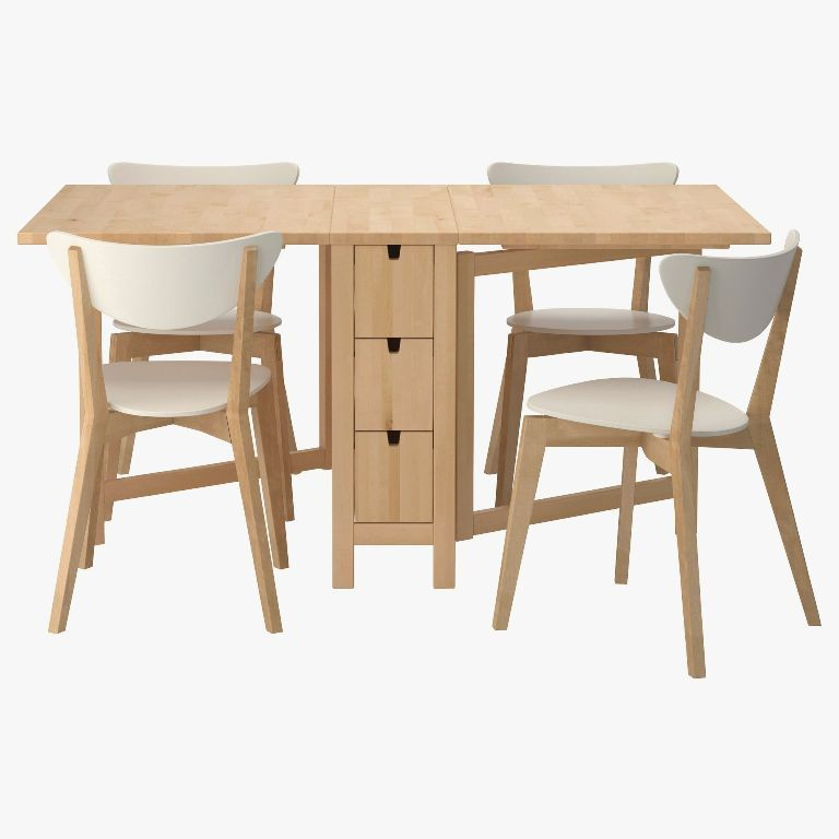 Furniture Stunning Butterfly Folding Table And Chairs Ikea Also Round Folding Table And Ch In 2020 Folding Kitchen Table Rectangle Kitchen Table Foldable Dining Table