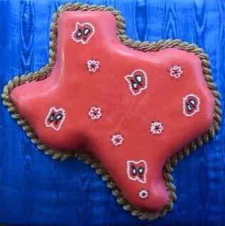 Texas bandana cake
