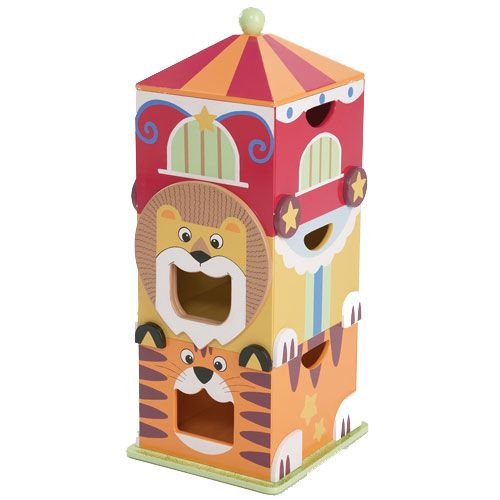 Kids Room Bedroom Storage Chest Unit Box With Lid For Sale: Big Top Circus Storage Unit