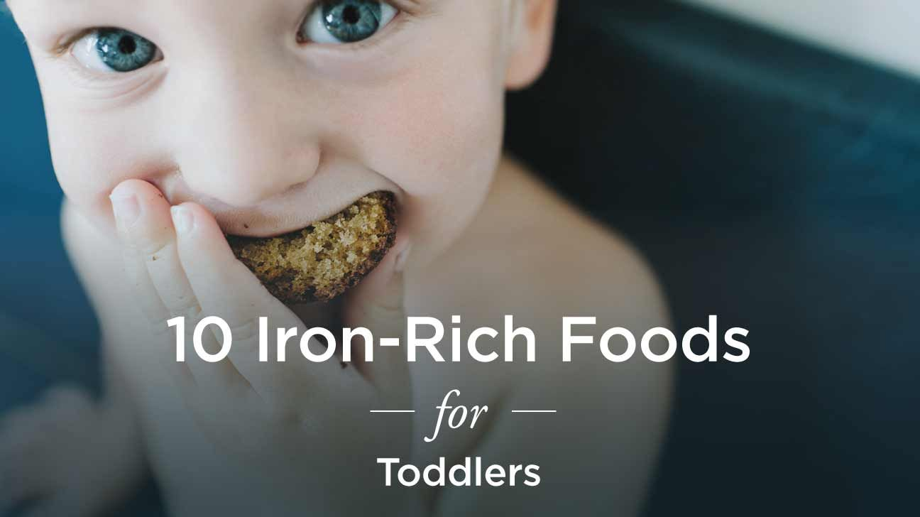Ironrich foods for toddlers 10 to try foods high in