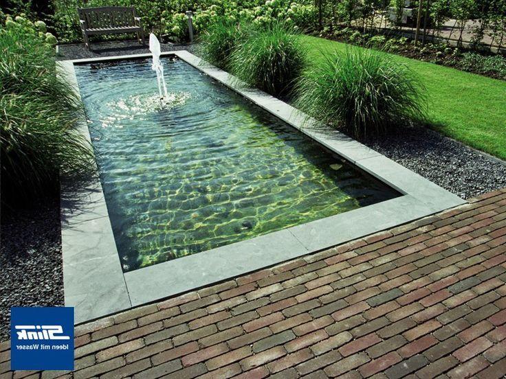 bildergebnis für formale wasserbecken | wasser im garten - ideen, Gartenarbeit ideen