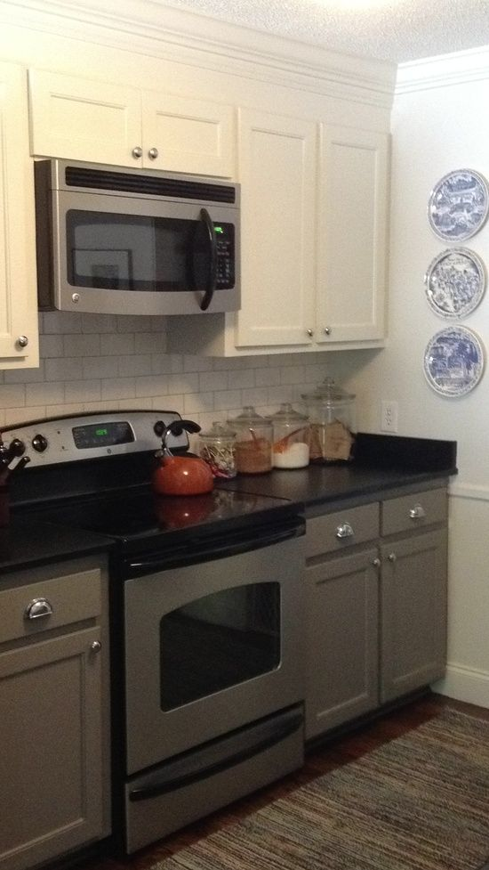 2 Tone Kitchen Cabinets Two Tone Kitchen Cabinets Honed