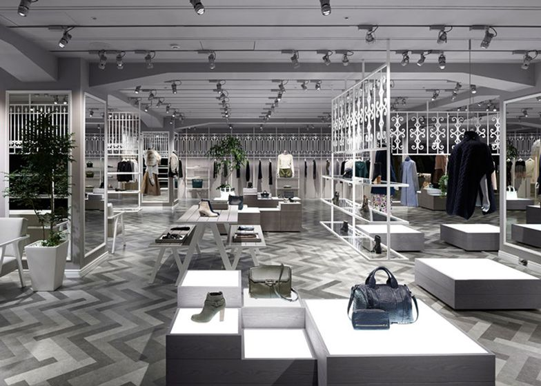 Nendo styles Tokyo department store into a European park