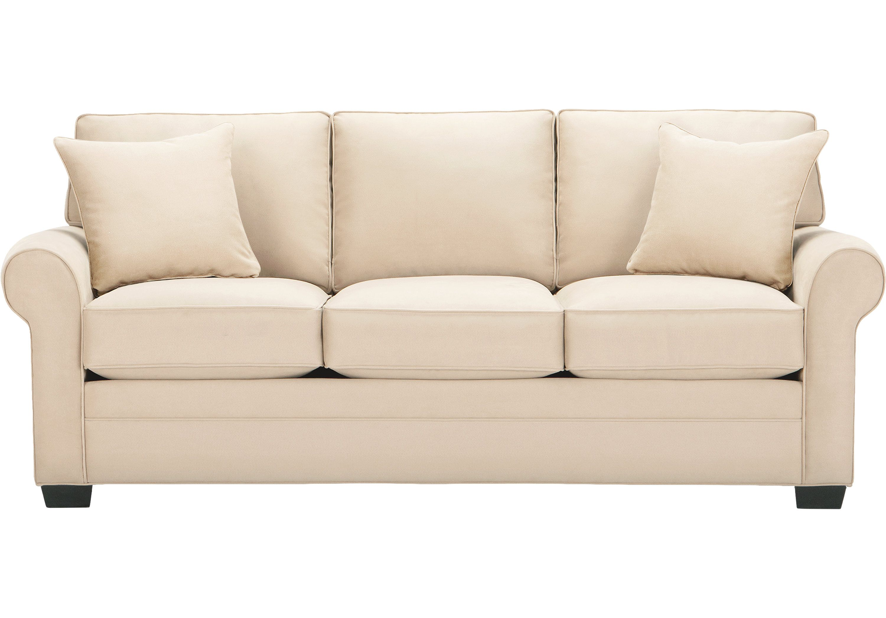 Picture Of Cindy Crawford Home Bellingham Vanilla Sofa From Sofas Furniture