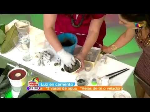 Chuladas creativas ideas con cemento tabata jalil y for Macetas de cemento