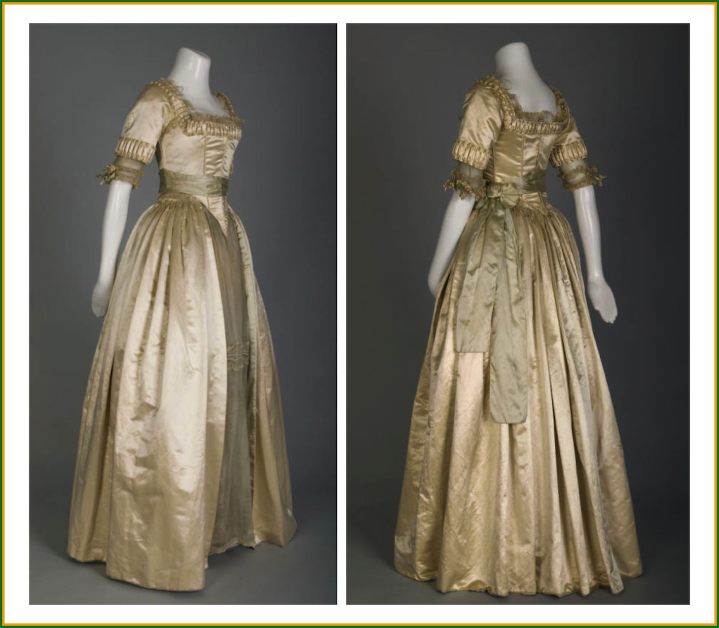 Historical Museum of Basel dress | 1916 Lucile wedding dress ...