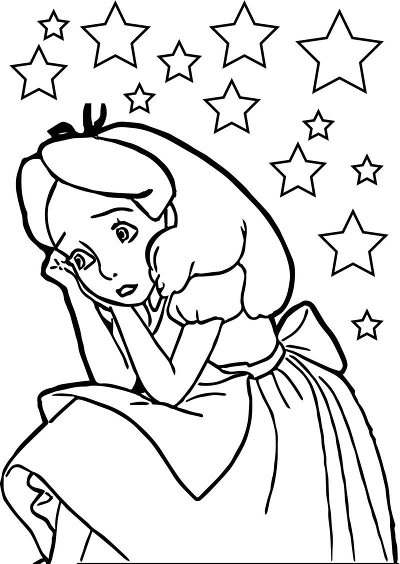 Alice Scream Coloring Page Fall coloring pages, Coloring