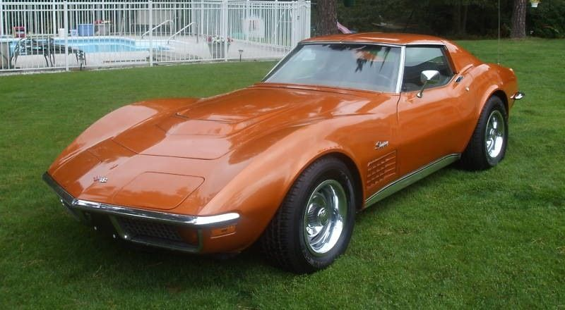Example Of Ontario Orange Paint On A 1972 Gm Corvette Corvette Corvette Stingray Chevy Corvette