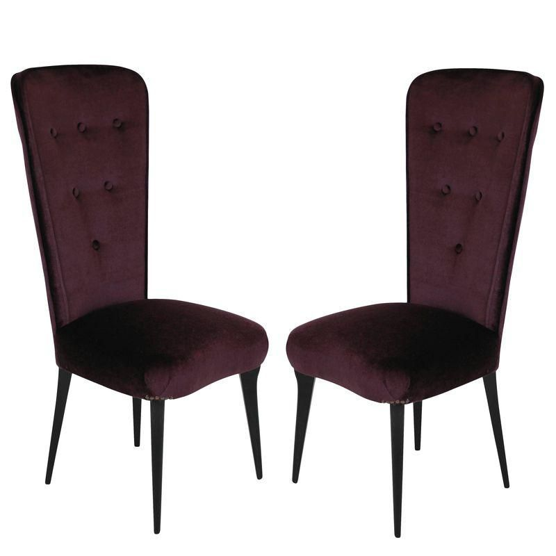 Pair of Italian Bedroom Chairs #bedroomchairs Bedroom Furniture - Italian Bedroom Sets
