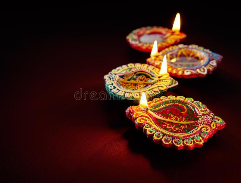 Diwali Oil Lamp Colorful Clay Diya Lamps Lit During Diwali Celebration Affiliate Colorful Clay L Happy Diwali Images Diwali Pictures Diwali Wallpaper