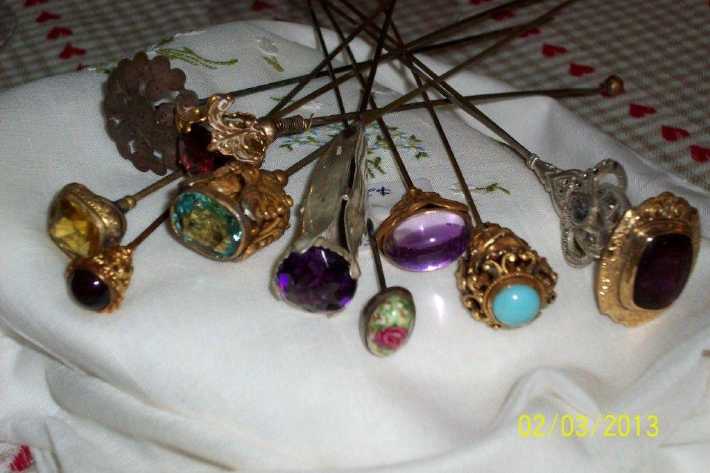 Several Hat Pins
