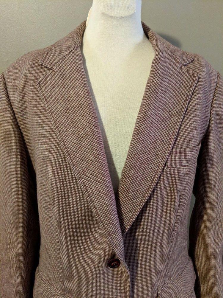 eb916c0dd92 Wool Blazer Suit Jacket Womens Vintage Evan Picone SZ 12 Union Tags   EvanPicone  SuitJacketBlazer