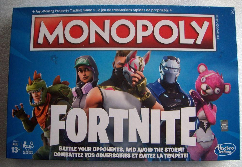 Monopoly Fortnite Board Game Fortnite Canada Game Captivatingmonopoli Fortnite Monopoly Football Board Game