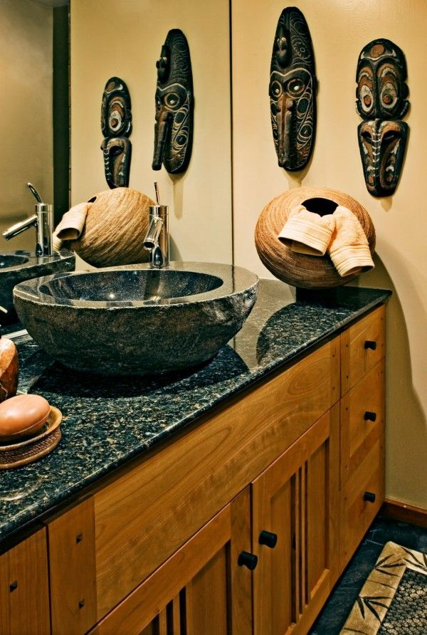 African Themed Bathroom Accessories | Creating An African Themed Bathroom Part 30