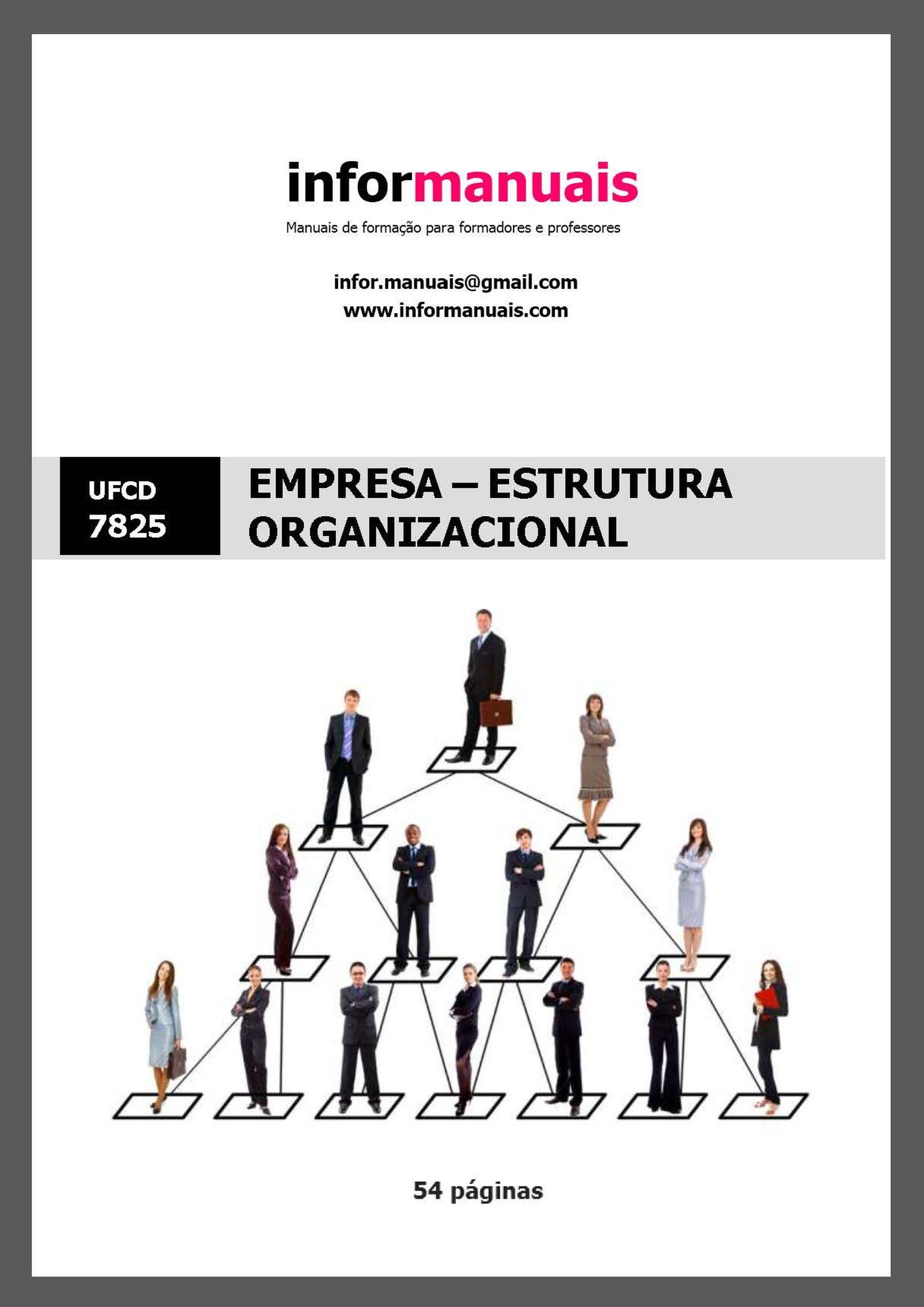 7825. Empresa - Estrutura organizacional