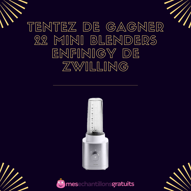 Tentez De Gagner 22 Mini Blenders Enfinigy De Zwilling En 2020 Jeux Concours Gratuits Jeu Concours Produits Innovants