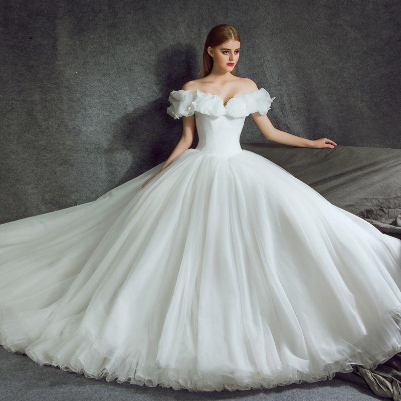 Stunning Cinderella Wedding Dresses 2017 ALine / Princess