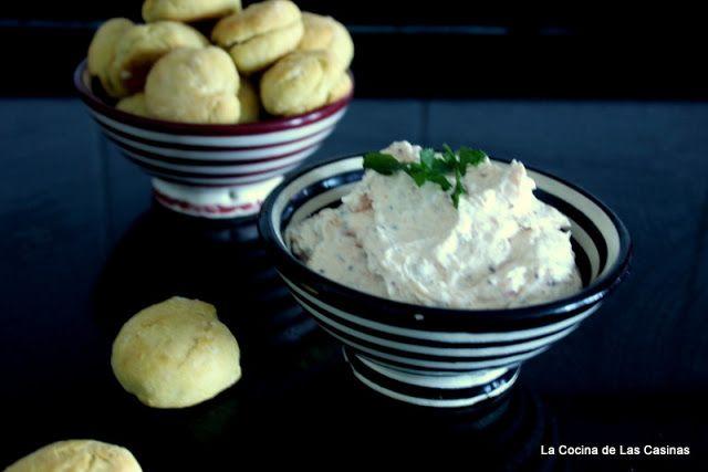 Casinas: Creamy Smoked Salmon Filled  Scones