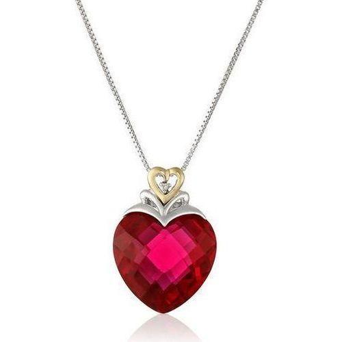 27 Great 40th Wedding Anniversary Gift Ideas For Him Her Diamond Accent Pendant Heart Pendant Diamond Ruby Heart Pendant