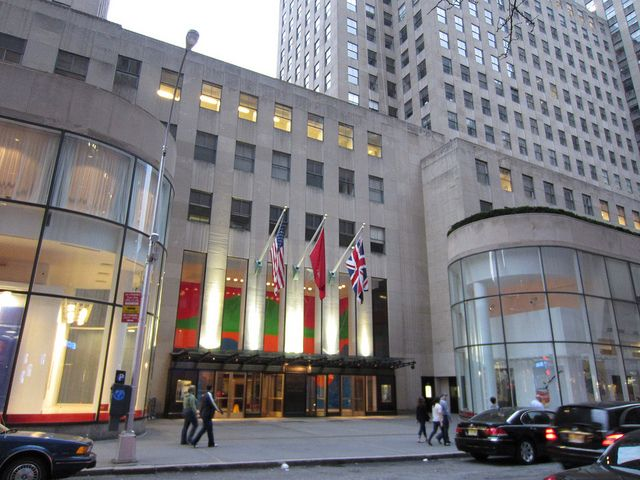 10 Rockefeller Plaza, formally Eastern Airlines.   NYC (Midtown ...
