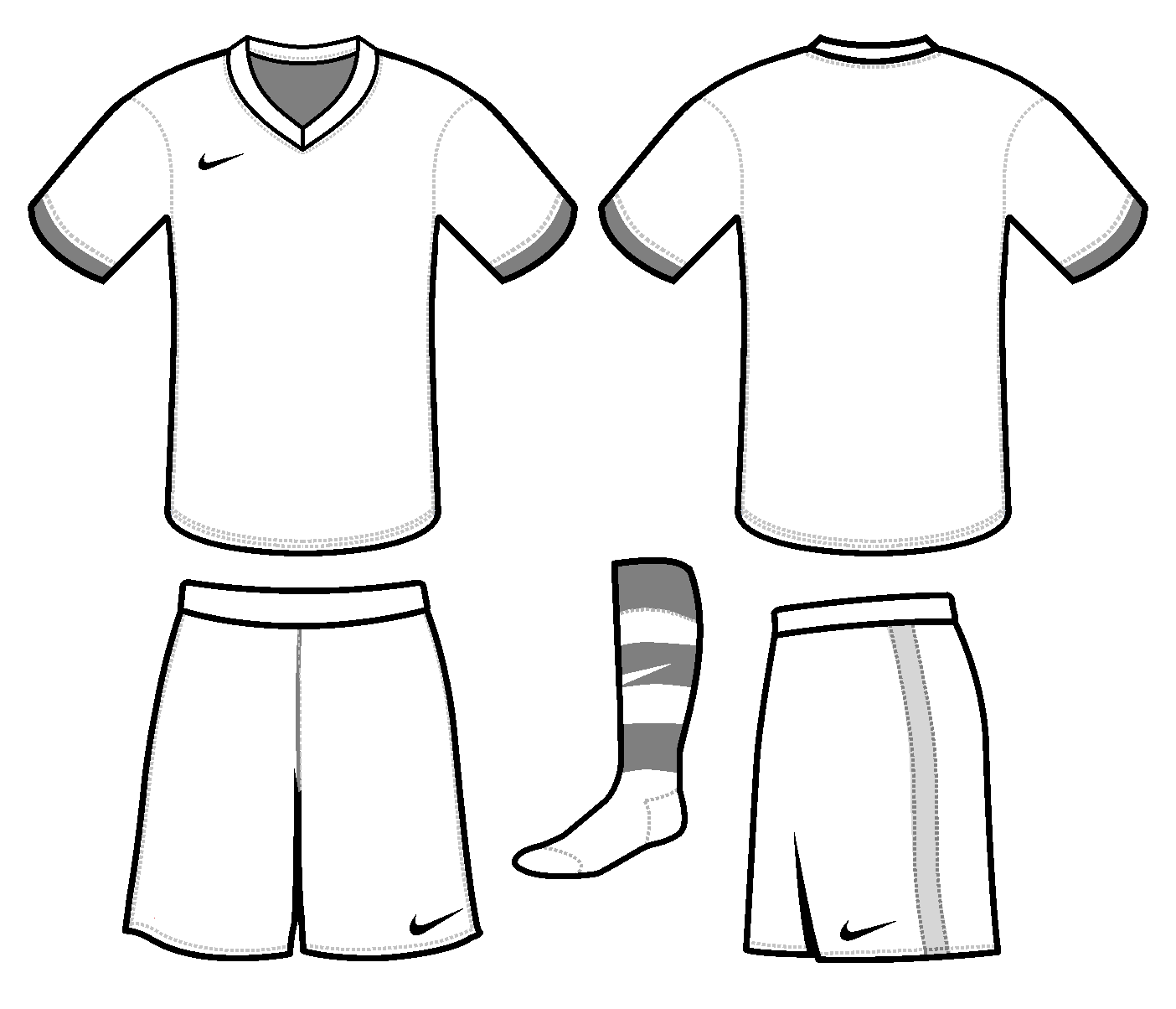 Printable Soccer Jersey Template One Pen One Page Soccer Jersey Football Jersey Outfit Soccer Shirts