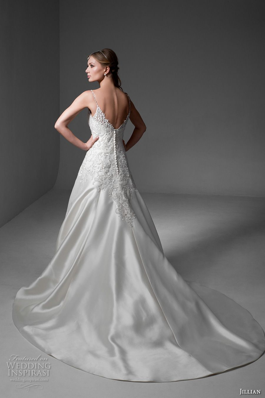 Wedding dresses v neck  Jillian  Wedding Dresses u ucArtemisiaud Bridal Collection