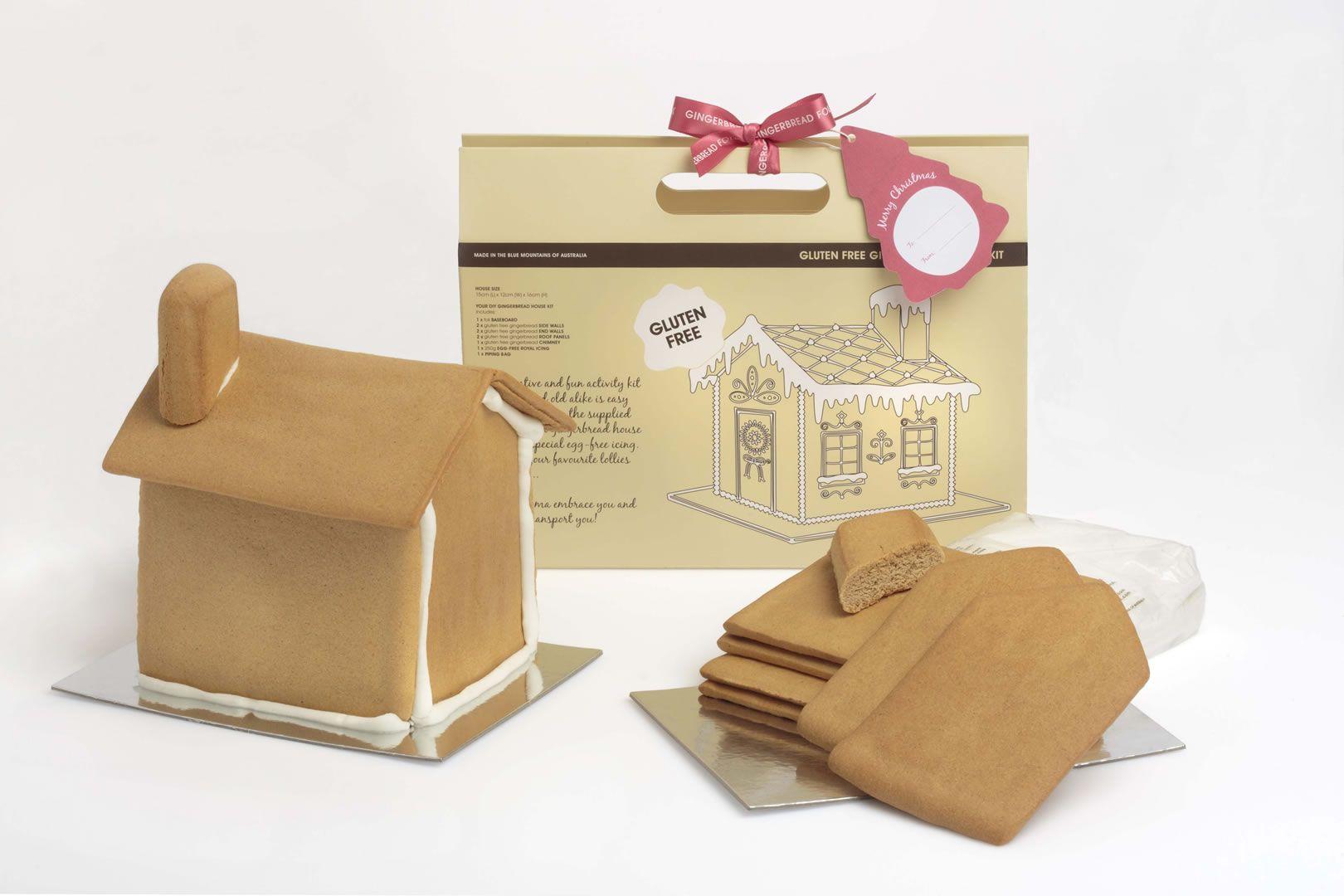 Gingerbread House Kit Gingerbread house kits, Gluten