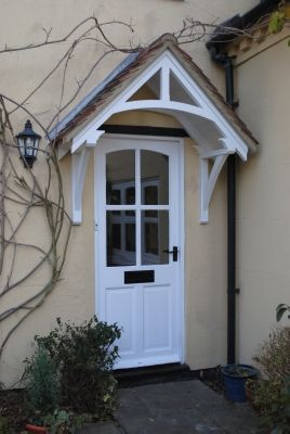 Timber door canopies- traditional cottage canopies - front door . & Timber door canopies- traditional cottage canopies - front door ...