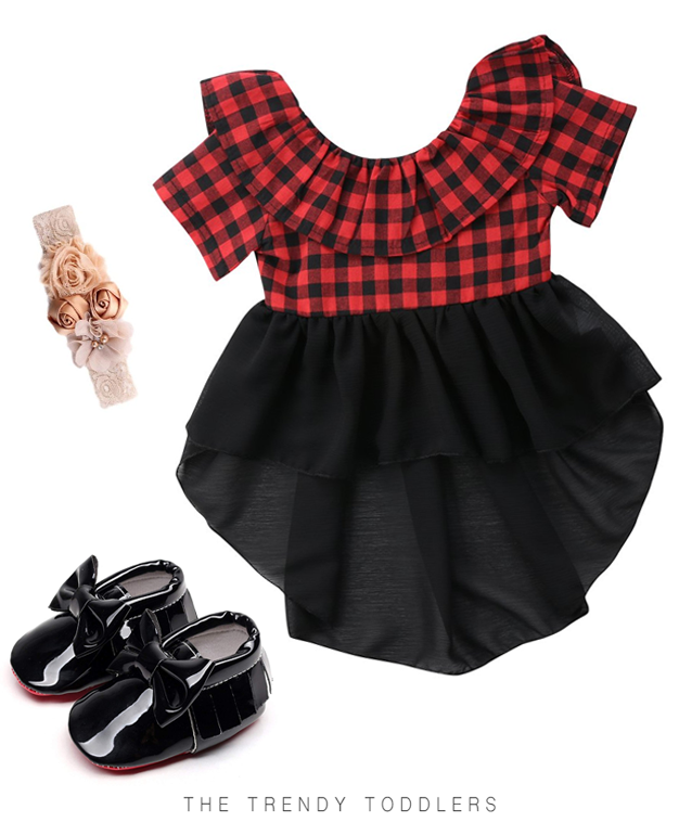 Plaid Dress Christmas Trees Amp Ideas Kids Outfits