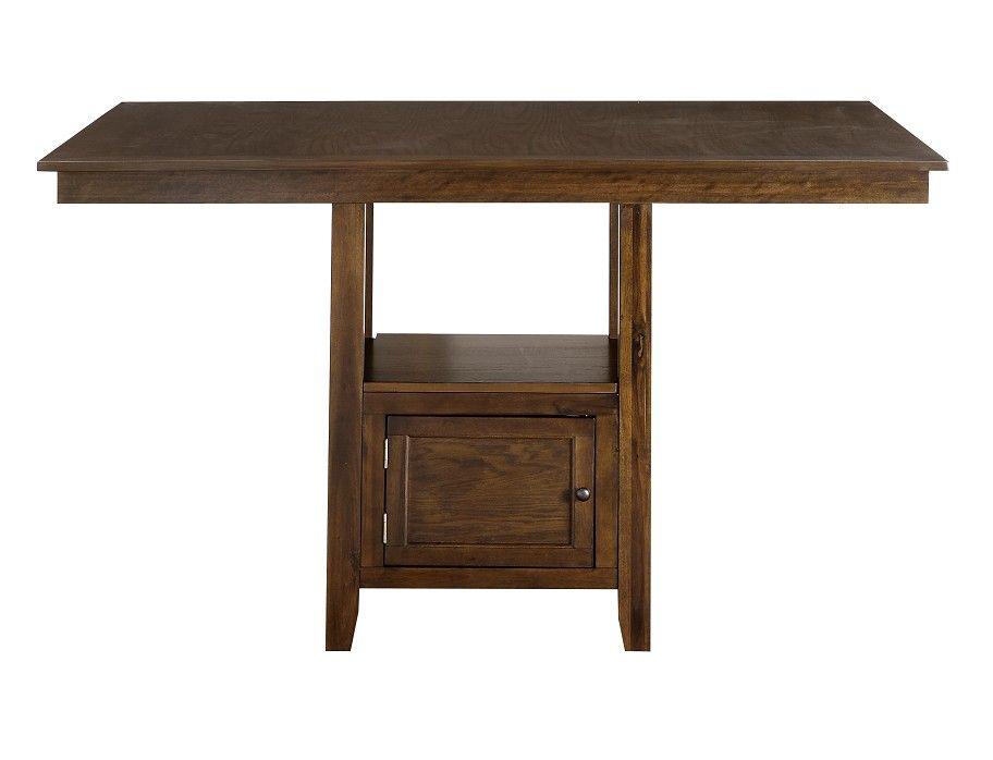Slumberland Woodwyn Collection Med Oak Counter Dining Table Dining Table Dining Furniture Table