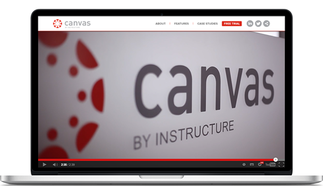 Canvas is a cloud-based Learning Management System that