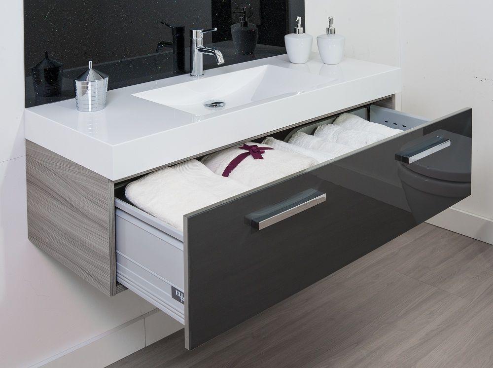 ikon gloss graphite solus vanity unit bathroom pinterest vanity units vanities and