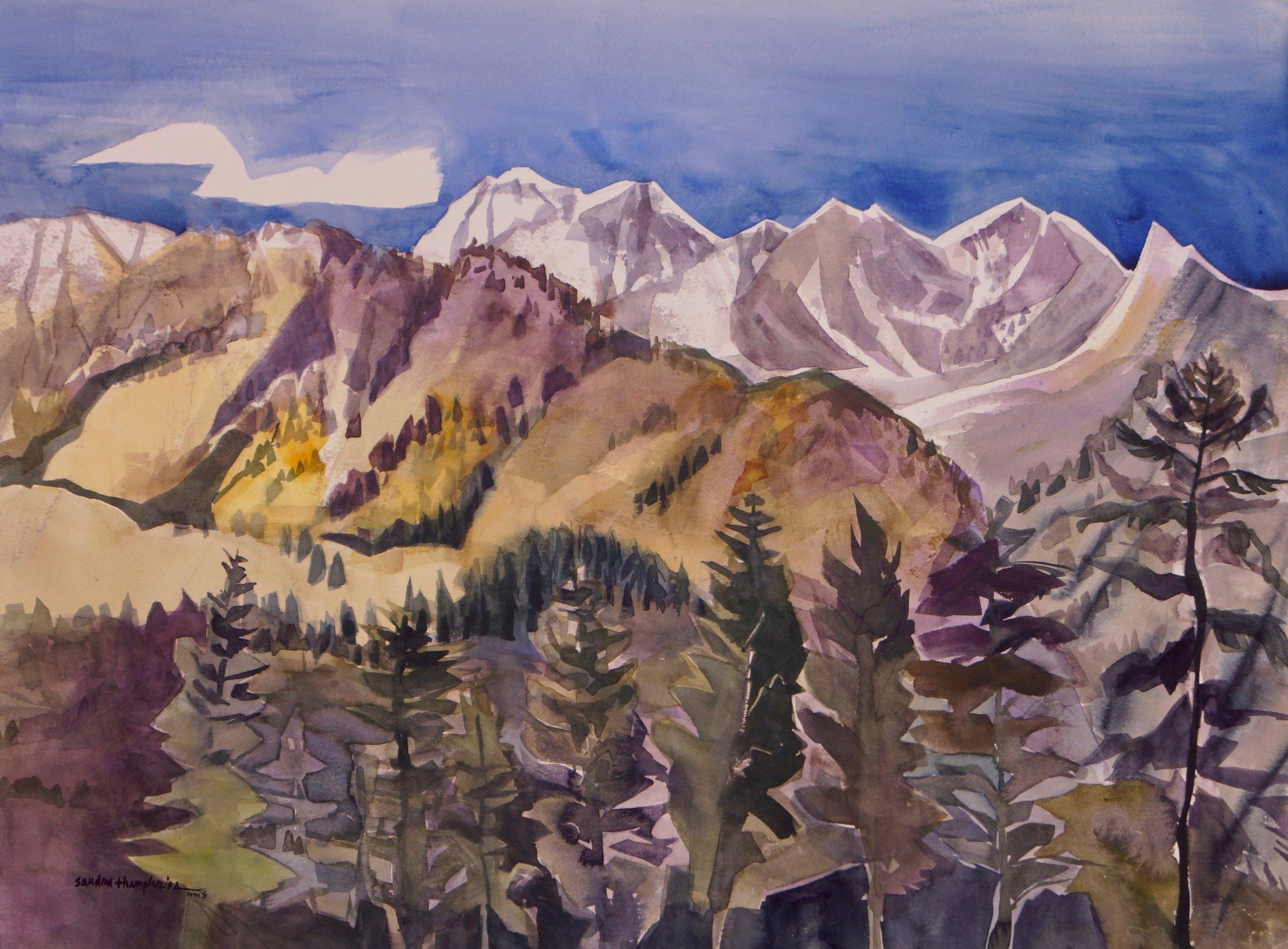 Sandra Humphries Painting Artist   Artful Home
