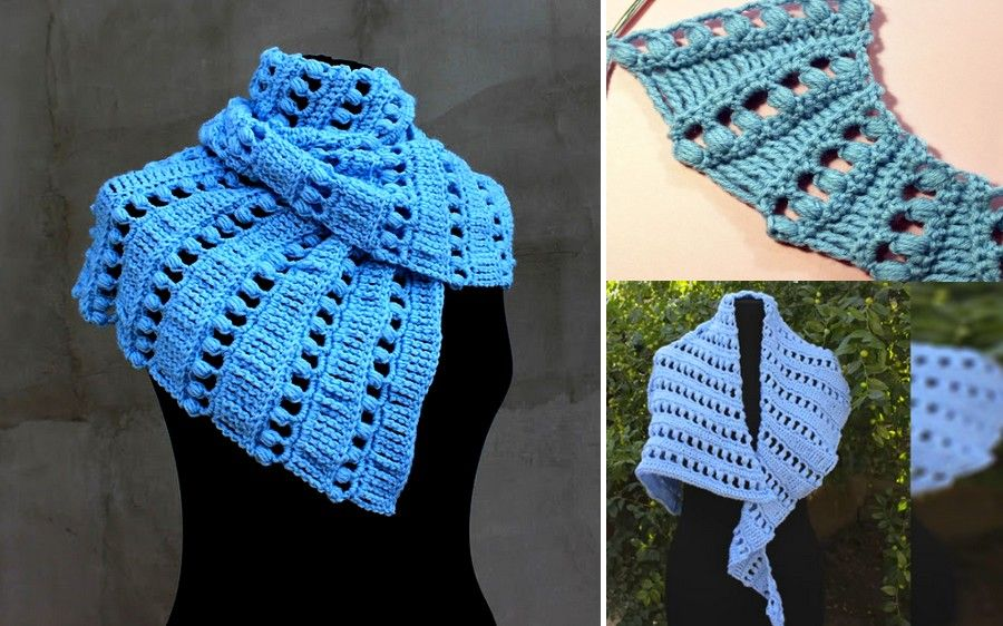 chal crochet bonito | Rendas | Pinterest | Chal, Bonito y Los videos