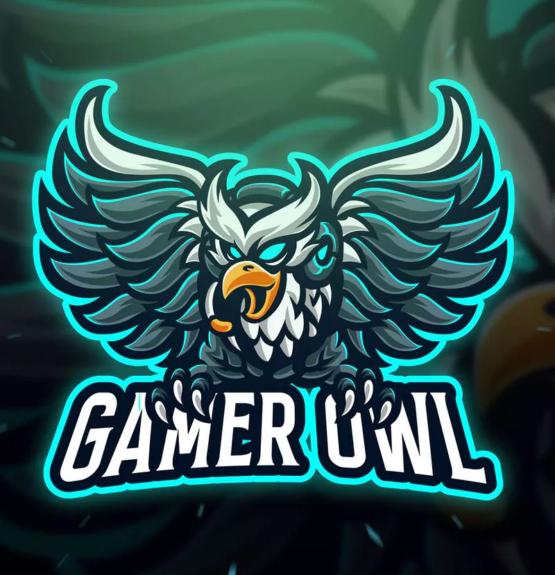 Gamer Owl Sport and Esport Logo Template by Blankids on in