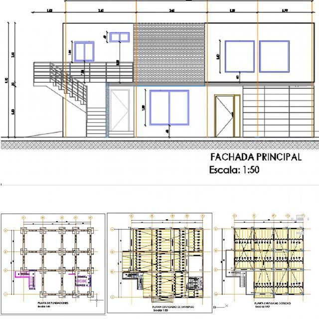 Ingeniero civil se hacen proyectos de calculo estructural for Planos ingenieria civil