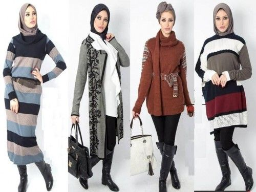 Egyptian winter hijab fashion, Winter hijab outfits in warm colors by Milla http://www.justtrendygirls.com/winter-hijab-outfits-in-warm-colors-by-milla/