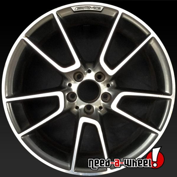 Mercedes Rims For Sale >> 2017 2018 Mercedes C43 Oem Wheels For Sale 19 Machined Stock Rims