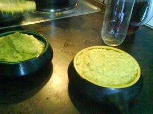 Chilean food ...pastel de choclo