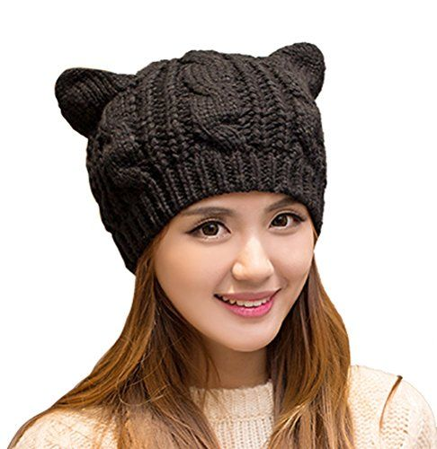 Black Cat Slouch Hat Free Crochet Cat Hat Pattern Crochet Cats