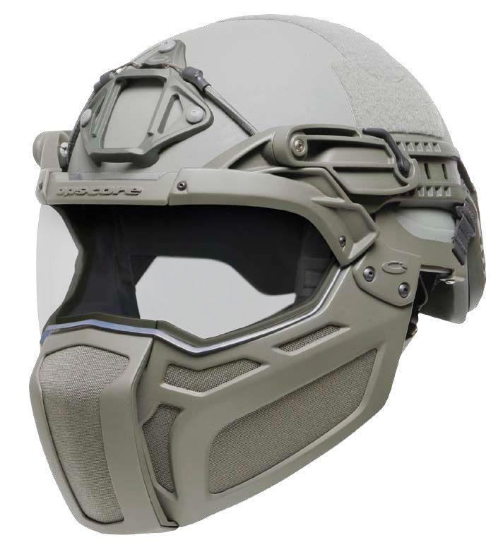 OPS-CORE Moto Visor & Mandible for Sentry