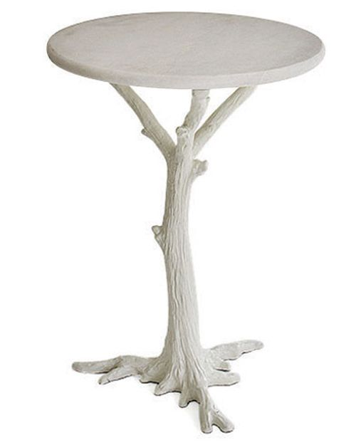 A Tree Grows in Brooklyn: Cobble Hill's Faux Bois Side Table....this an awesome table!!!