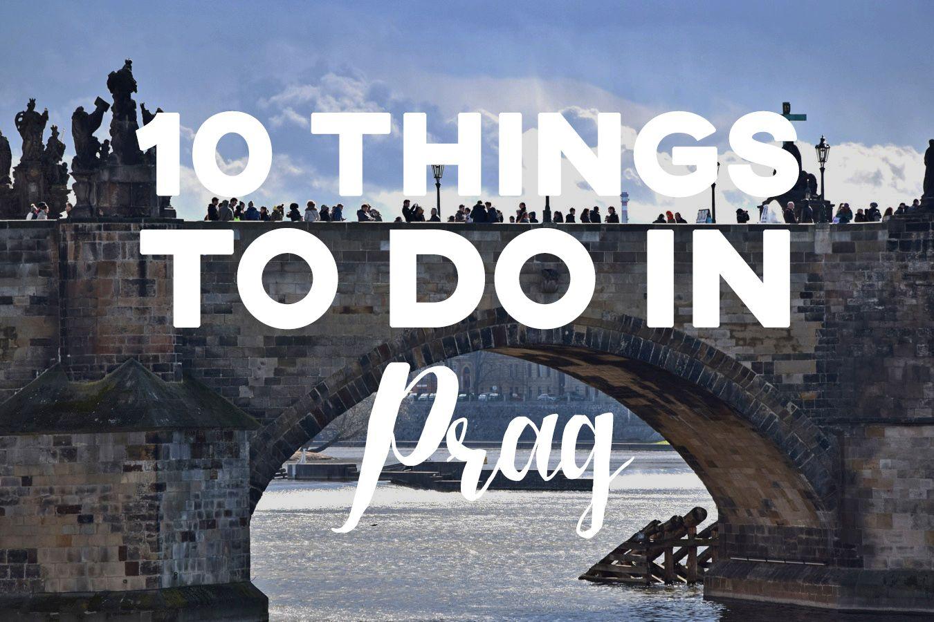 10 Things to do in Prag - German - 10 Tipps für Prag die in 48 Stunden zu erledigen sind!  #Prag #Praha #Europe