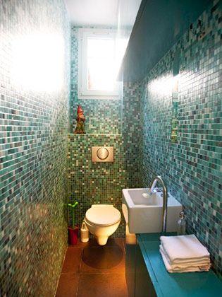 Glorious Glass Tile Bathrooms By Susan Jablon | Luxury Home Interior Design Ideas | Indasro.com